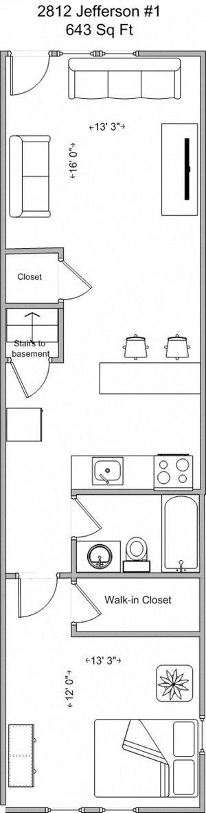 1 Bedroom (Model A)