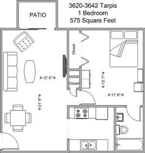 1 Bedroom Lower Level