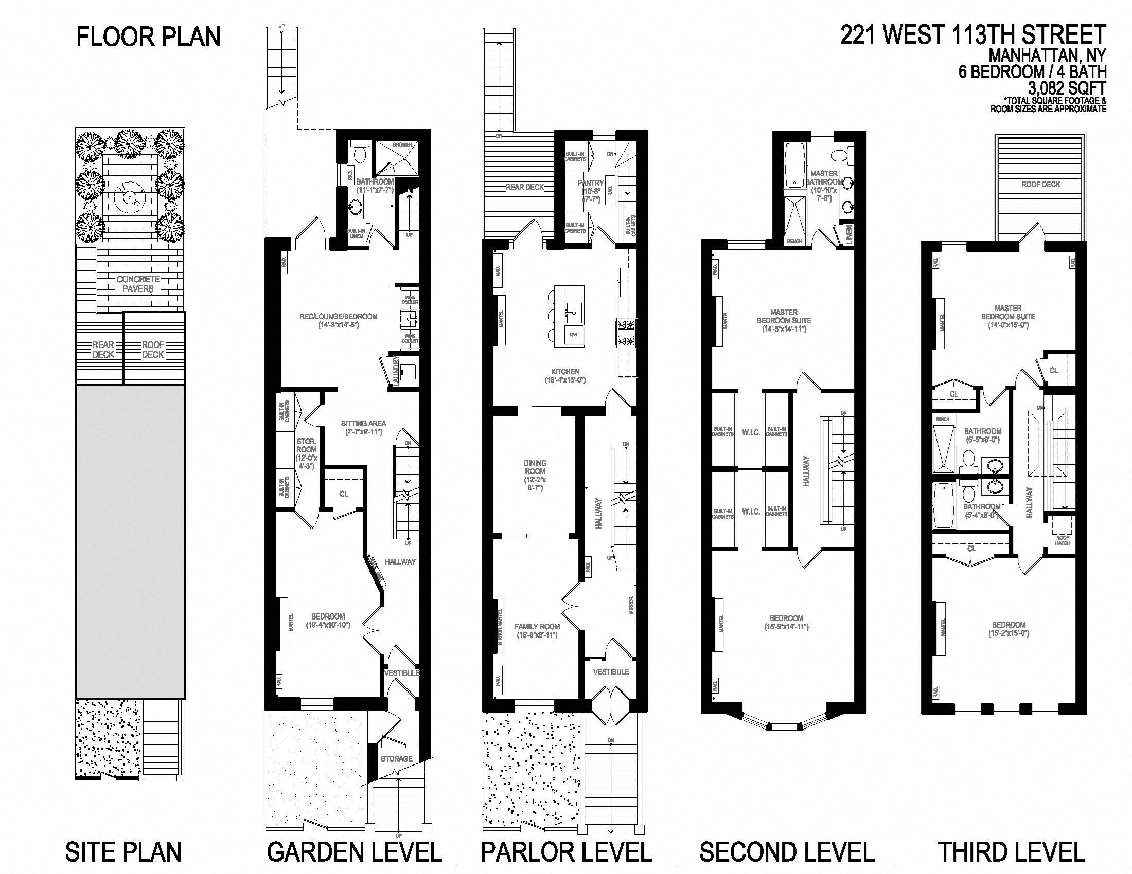221 west 113th street ebrochure for 221 armstrong floor plans