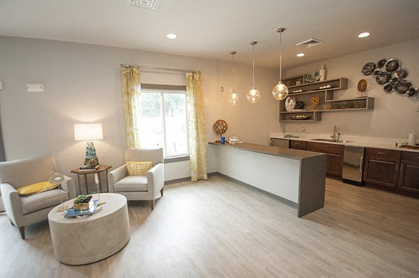 Spacious Living Room at Sterling Beaufont Apartments