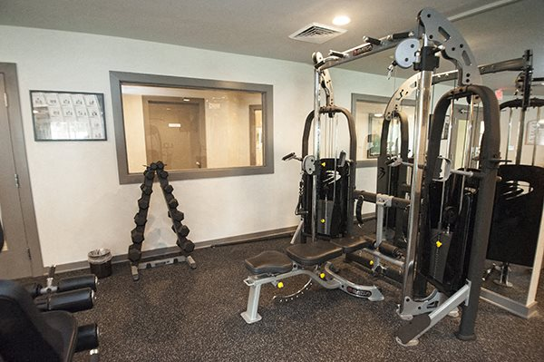 Modern Fitness Center at Sterling Beaufont Apartments