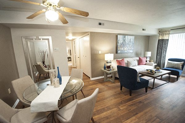 Hardwood Flooring at Sterling Beaufont Apartments