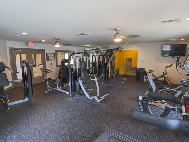 Fully Equipped Fitness Center at Sterling Beaufont Apartments