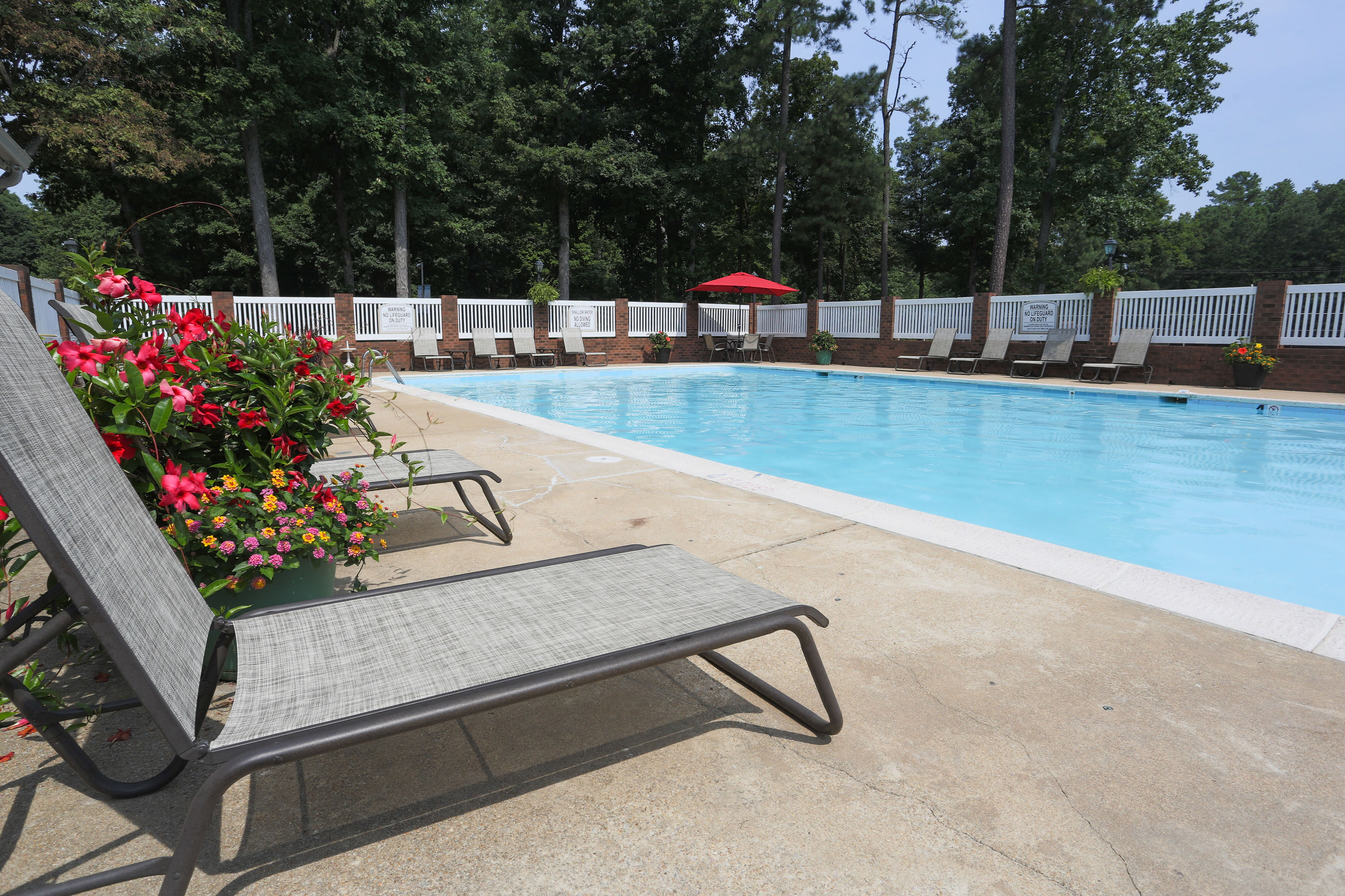 Refreshing Swimming Pool At Sterling Beaufont Apartments