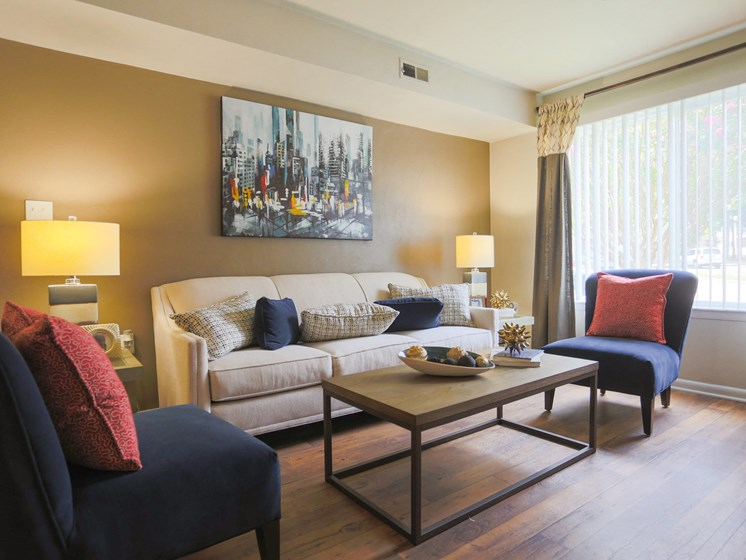 Modern Living Rooms at Sterling Beaufont Apartments
