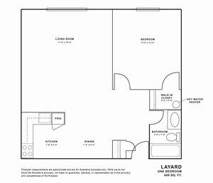 Layard 1 bedroom   The Maples Racine, WI