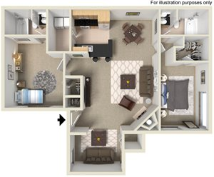 Two Bedroom Styles