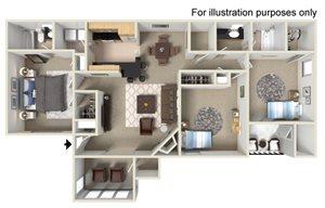 Shannon Lakes Apartments Floor Plans