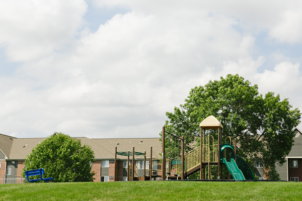 outdoors playground  at Valley Creek Apartments, Woodbury, MN 55125