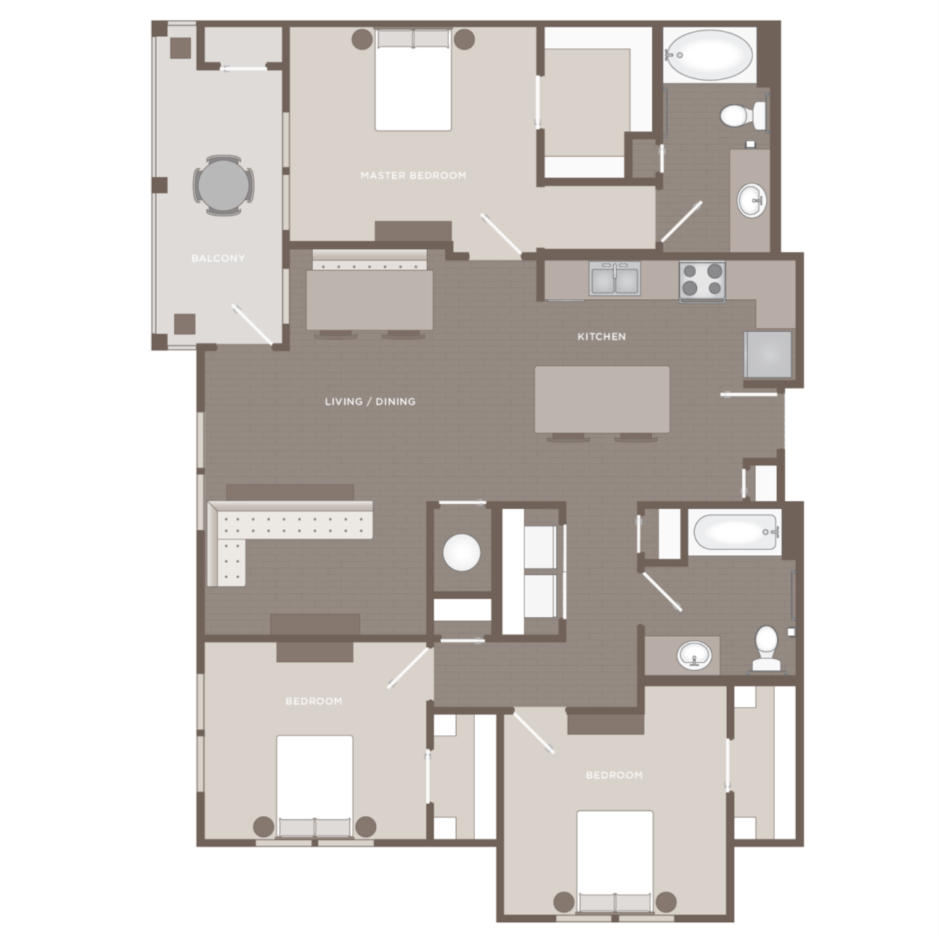 Neo Vertika: Floor Plans Of Apartments In Savannah, GA
