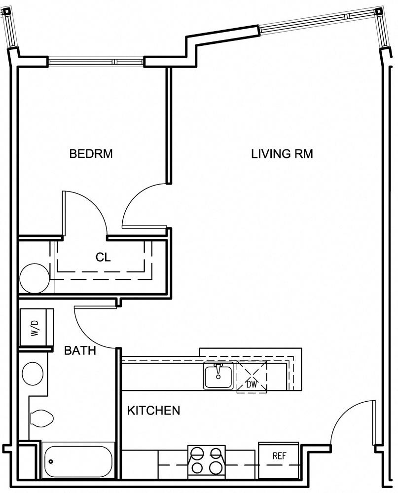 floor plans of squire park plaza in seattle wa suite a floorplan floor planone