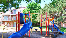 Playground at The Colonial Apartment Homes in Omaha