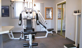 Fitness Center of Apartments in Omaha