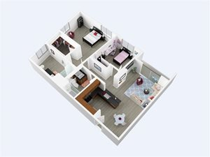 The Azure Apartments Canoga Park