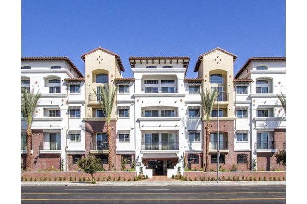 Gated Entrance at Le Blanc Apartment Homes, Canoga Park, CA, 91304