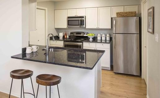 Upgraded Unit Kitchen