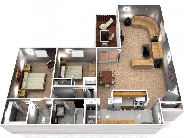 The Magnolia Floor Plan 7