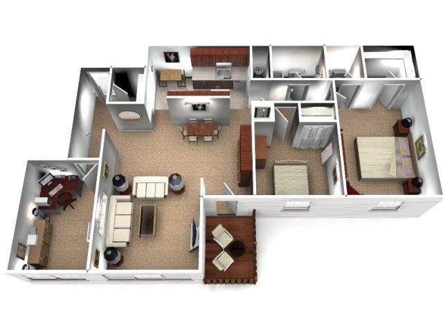 The Redwood Floor Plan 8