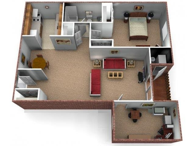The Birch Floor Plan 3