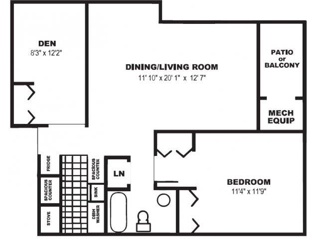The Oak Floor Plan 2