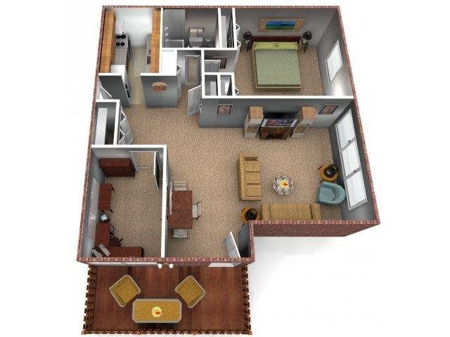The Pine Floor Plan 4