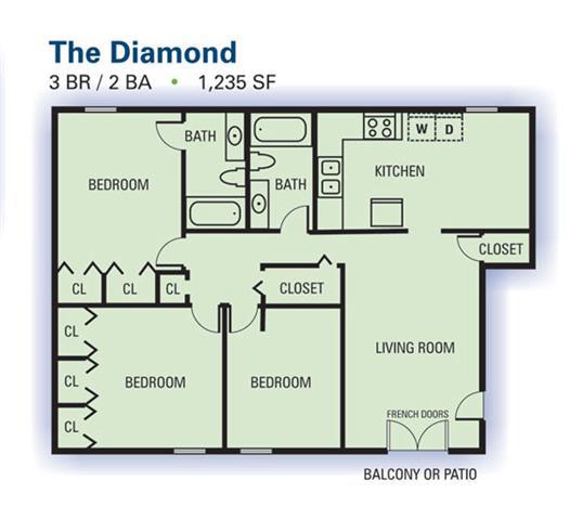 Apartments In Riverdale Ga: Floor Plans Of Emerald Pointe Apartment Homes In Riverdale, GA