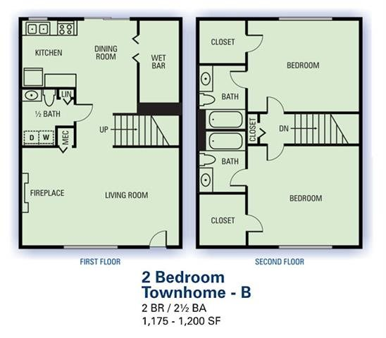 Floor Plans Of Stonetree Apartments In East Point, GA