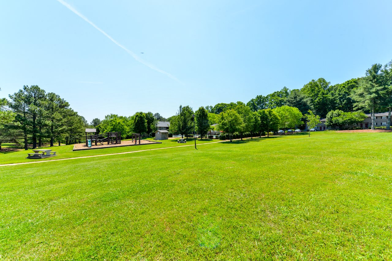 Peaceful, Park-like setting at The Village at Wesley Chapel | Decatur, GA 30034