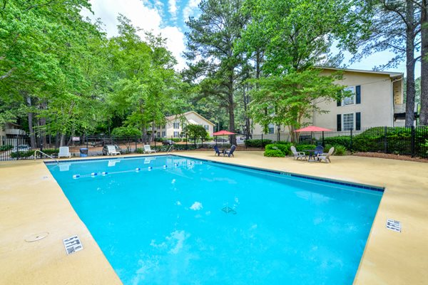 Sparkling Swimming Pool at The Woods at Southlake | Jonesboro, GA 30236