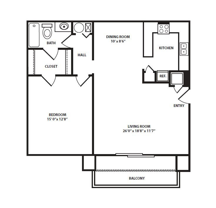 The Cottage Floor Plan 2