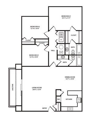 Sq Ft Studio Apartment Floor Plan Sq Ft Studio Apartment