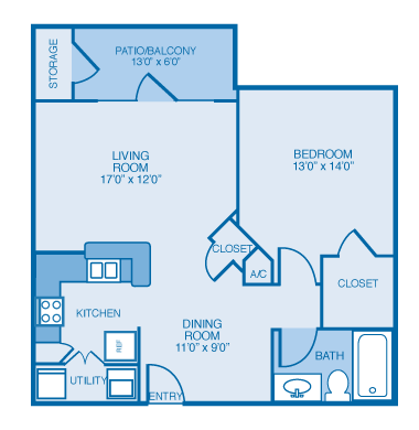 Avalon Floor Plan 1
