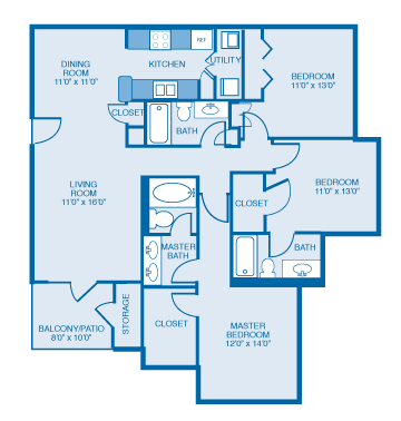 Georgian Floor Plan 10