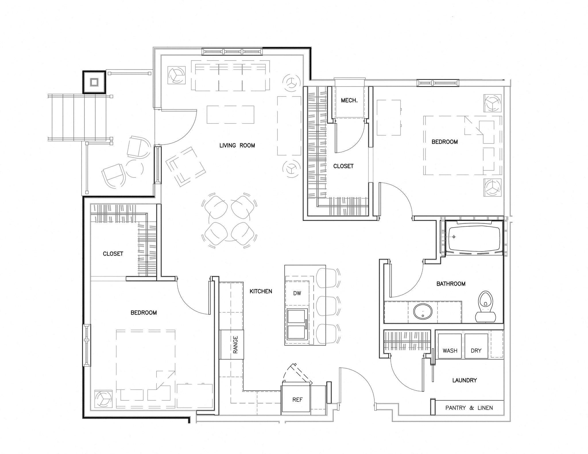 A1 Floor Plan 6