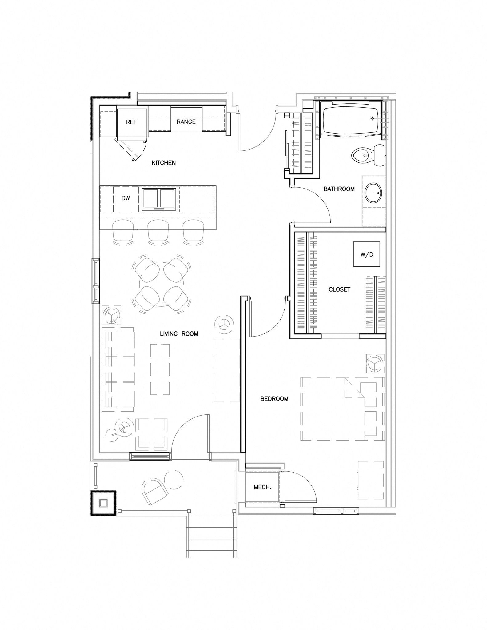 1C1NP Floor Plan 3