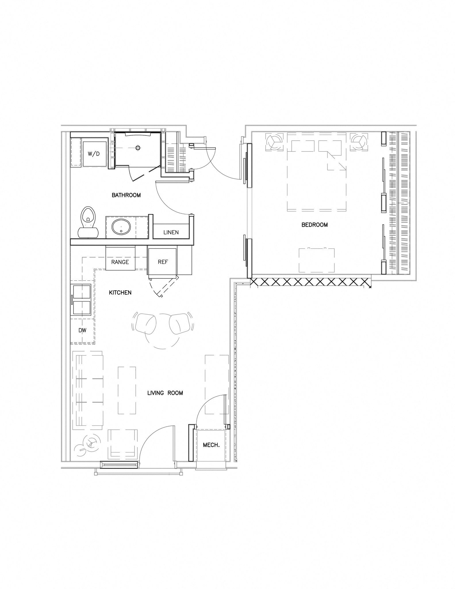 F-NP Floor Plan 1