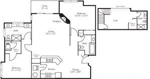 CBH Lofts - 2 Bed, 3 Bath Augusta w/ Loft