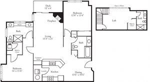 CBH Lofts - 2 Bed, 3 Bath Bayhill w/Loft