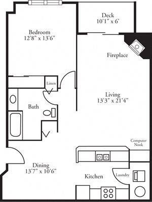 CBH Lofts - 1 Bed, 1 Bath Cypress