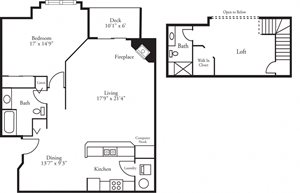CBH Lofts - 1 Bed, 2 Bath Dunes w/ Loft