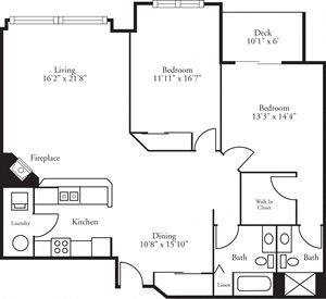 CBH Lofts - 2 Bed, 2 Bath Foresthill
