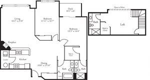 CBH Lofts - 2 Bed, 3 Bath Foresthill w/ Loft