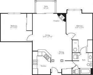 CBH Pinnacle - 2 Bed, 1 Bath Annondale