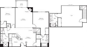 CBH Pinnacle - 2 Bed, 3 Bath Doral w/ Loft