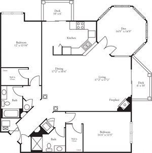 CBH Pinnacle - 2 Bed, 2 Bath + Den Edinburough