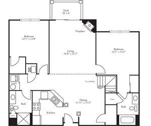 CBH Pinnacle - 2 Bed, 2 Bath Doral
