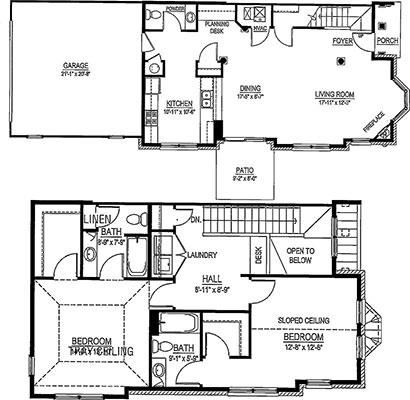 GTS Townhome - 2 Bed, 2.5 Bath End Unit