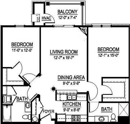 GTS Washington - 2 Bed, 2 Bath