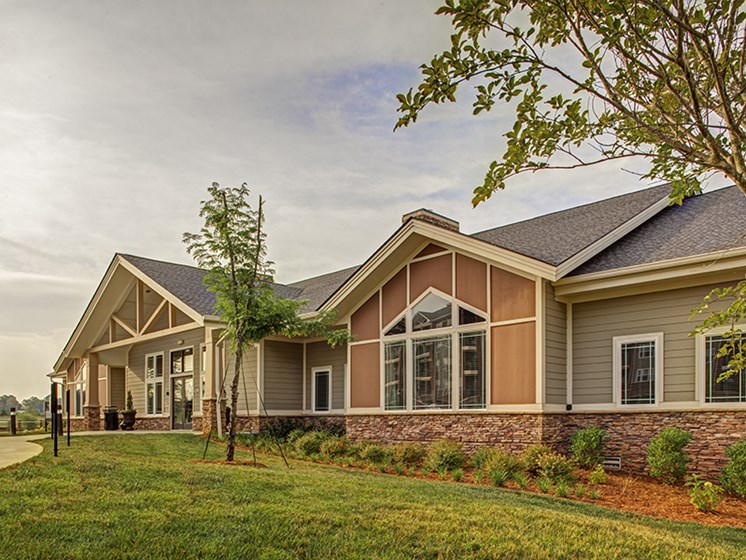 Resident Clubhouse at LangTree Lake Norman Apartments