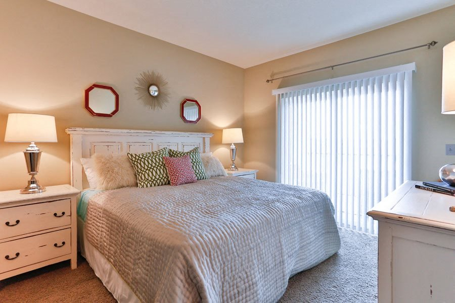 Spacious Bedrooms at LangTree Lake Norman Apartments